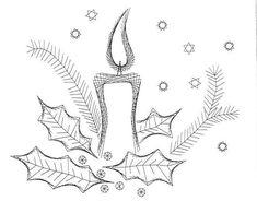 Nerinai.eu - nėriniai, mezginiai, nėrinių brėžiniai, pamokos bei patarimai - schemos II Diy Christmas Cards, Christmas Art, Embroidery Cards, Embroidery Patterns, Embroidered Paper, Stitching On Paper, Sewing Cards, String Art Patterns, Christmas Embroidery