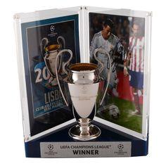 Cristiano Ronaldo Real Madrid Fanatics Authentic Autographed 2014 Champions League Mini Replica Trophy