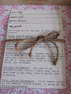 Something Blogged: DIY Bridesmaid Boxes