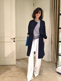 Casual Fall Look – Fall Must Haves Collection. 22 Stunning Casual Style Outfits To Update You Wardrobe This Summer – Casual Fall Look – Fall Must Haves Collection. Looks Chic, Looks Style, Style Me, Work Fashion, Fashion Looks, Fashion Clothes, Fashion Gone Rouge, Pantalon Large, Kendall Jenner Style