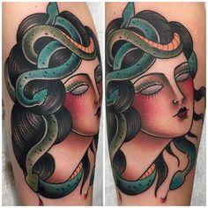 Wicked Medusa Tattoos
