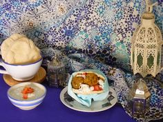 Falafels con tzatziki en pan de pita - Cocina callejera