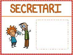 càrrec secretari