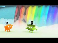 Alphablocks Series 2 Rainbow Learn To Read English, Yoshi, Rainbow, Learning, Spring, Youtube, Fictional Characters, Ideas, Rain Bow