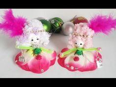 40.Muñeca de flor sin coser.Кукла из цветка за 5 мин.для не умеющих шить.