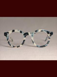 19c41785ed97 Custom White Tortoise Shell Glasses by Indivijual Custom Eyewear Glasses  For Your Face Shape