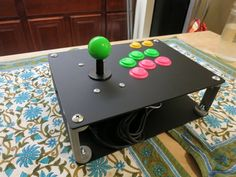 Raspberry+Pi+Arcade+Stick+Console+by+nocarrier.