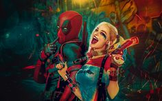 Wide harley quinn wallpaper hd On Wallpaper Windows 8 avec harley quinn fond…