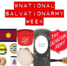 #nationalsalvationarmyweek freebies! Salvation Army Women's Ministries photo booth cutouts