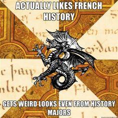 Fuck Yeah, History Major Heraldic Beast