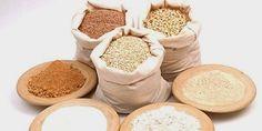 Trigos e farinhas sem glúten