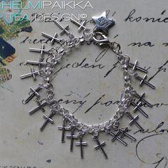 Helmipaikka Oy - Joka päivä on korupäivä - Helmipaikka. Tea Design, Crosses, Charmed, Bracelets, Jewelry, Jewlery, Jewerly, Schmuck, Jewels