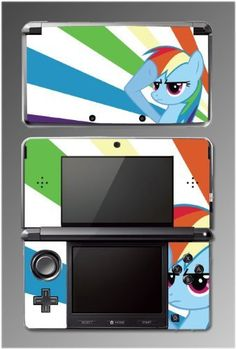 My Little Pony Friendship is Magic Rainbow Dash Equestria Girls Cartoon Movie Ponyville Video Game Vinyl Decal Skin Cover Protector for Nintendo 3DS by Gamerz Skinz, http://www.amazon.com/dp/B00D4AZYV8/ref=cm_sw_r_pi_dp_sD80rb0G7M57C