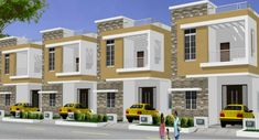Raj Enclave by DSR Constructions BHK Residential House & Villas in Boduppal City, Hyderabad. Find more information on Raj Enclave Project at Magicbricks. 3 Storey House Design, House Design Photos, Bungalow House Design, House Front Design, Small House Design, Small Modern House Plans, Modern Bungalow House, Architectural House Plans, Duplex House Plans