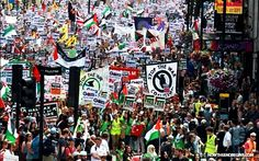 Muslim-Run London Turns Against Israel With Pro-Gaza 'Stop the War Coalition' March Saturday - Now The End Begins