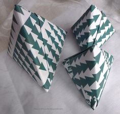 Origami Tetraeder-Box