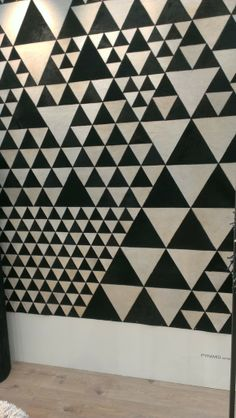 cow, triangle pattern, black and white