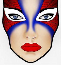 spiderman makeup | 12+SpiderMan+Makeup.jpg