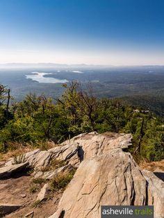 Hike to beautiful views of Lake James and into Linville Gorge from the rocky, rugged Shortoff Mountain summit