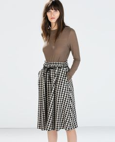 Image 1 of LONG SLEEVES JERSEY T-SHIRT from Zara