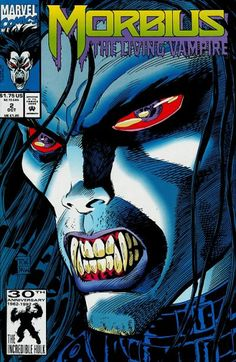 Morbius: The Living Vampire # 2 by Ron Wagner & Mike Witherby