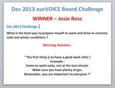 DIA December 2013 OV Winner Announce