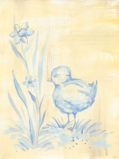 """""""Toile Chickie"""" - Canvas Wall Art from Oopsy daisy, Fine Art for Kids"""