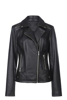 Leather Biker Jacket for Tall Women | Long Tall Sally USA