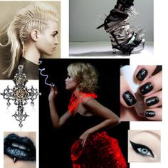Don't get too close to the wearer of this Grammy Winner outfit, you might get pierced! A super edgy look for music's big night Edgy Chic, Big Night, Edgy Look, Fashion Forward, Halloween Face Makeup, Couture, Music, Outfits, Style