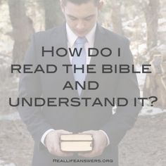 How to study the Bible...this has really helpful tips.