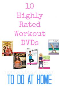 10 Highly Rated DVD Workouts to Do at Home #fitness #health