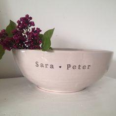 Wedding bowl from muggarmm.se