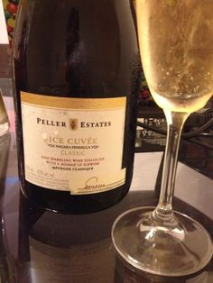 Peller States - Ice Cuvee sparkling wine is the best in Niagra in my opinion. It is made with ice wine and has a delicious taste.