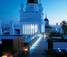Rooftop Bar, Madryt, Hiszpania