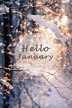Hello January Picture