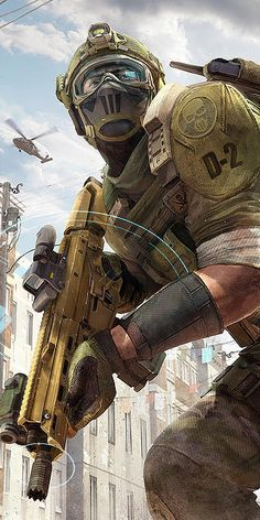 Art of Donovan Valdes #art #concept #illustration #ghost #bodark #recon #scout #future #soldier