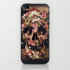 Jungle Skull iPhone & iPod Skin by Ali GULEC - $15.00