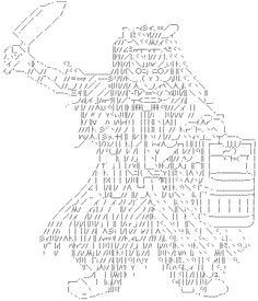 出たとこ勝@負ログ: 文字だけの世界 顔文字とアスキーアート