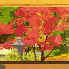 WIP #illustration #painting #tatsurokiuchi #art #drawing #life #lifestyle #happy #japan #people #木内達朗 #イラスト #イラストレーション #autumn #fall #autumnleaves