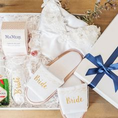 """Have you gotten her a wedding gift for the customary bride and groom gift exchange? Surprise her on the day of the wedding with our """"For My Bride"""" gift box. Curated Gift Boxes, Bride And Groom Gifts, Gift Exchange, Wedding Gifts, Gift Wrapping, Weddings, Wedding Day Gifts, Gift Wrapping Paper, Bride And Groom Presents"""