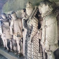 Arnolds Attic — I love the garments in this piece. @hatfield_house...