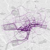 London - data mapping where people run