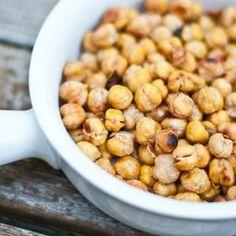 Salt and Vinegar Roasted Chick Peas