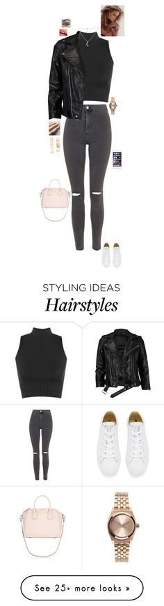 """""""We're fading away, lost and not found """" by jesshorne2014 on Polyvore featuring Topshop, WearAll, Floss Gloss, VIPARO, Converse, Forever 21, Givenchy, Fiebiger and Nixon"""