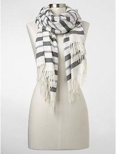 Cozy stripe scarf | Gap $18