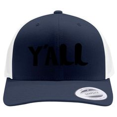 Y'all Retro Trucker Hat