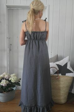 I love these pictures-so peacefull, elegant and timeless! This maxi-dress is perfect choice to every cele...