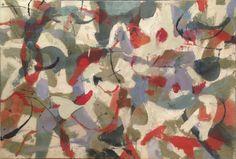 James Brooks, 'D-1952,' 1952, oil on canvas
