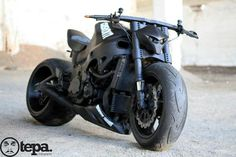 Suzuki GSX 1300R Hayabusa Destroyer I2I Streetfighter: