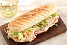 Jersey Shore Sub Panini recipe me and my husband make something similar to this accept we don't toast the bed will have to try this next time